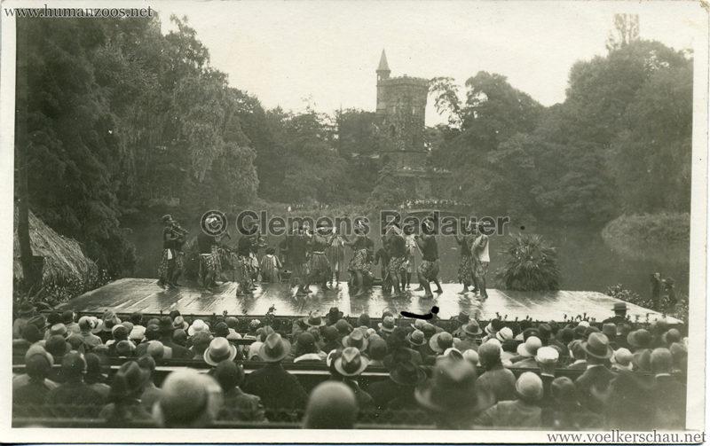 1931 Völkerschau Kannibalen in Frankfurt 1 VS