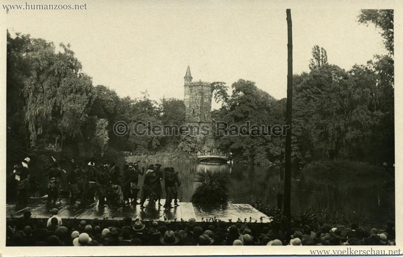 1931 Völkerschau Kannibalen in Frankfurt 2 VS