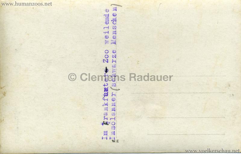 1931 Völkerschau Kannibalen in Frankfurt 2 RS
