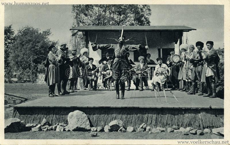 1932 Carl Hagenbecks Tierpark Altona - Stellngen Hamburg - Djigit Kuban Kosaken 1