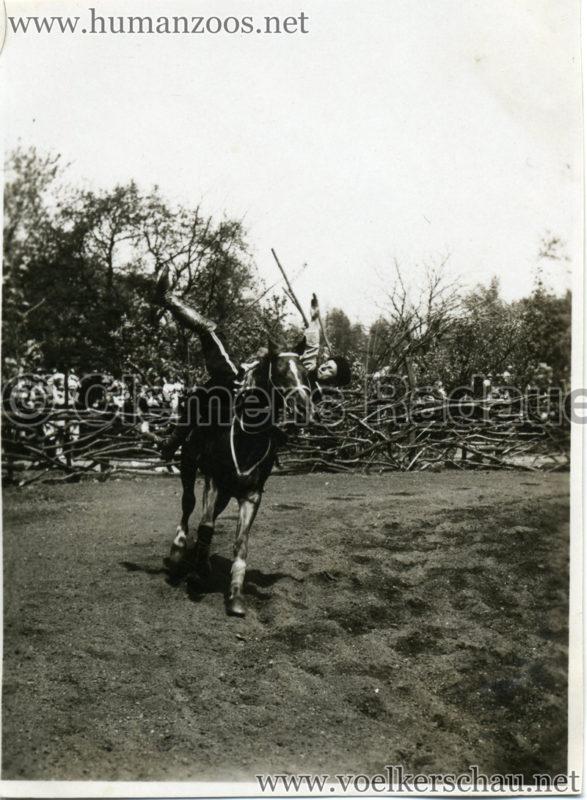 1932 Djigit Kuban Kosaken bei Hagenbeck - Foto 13