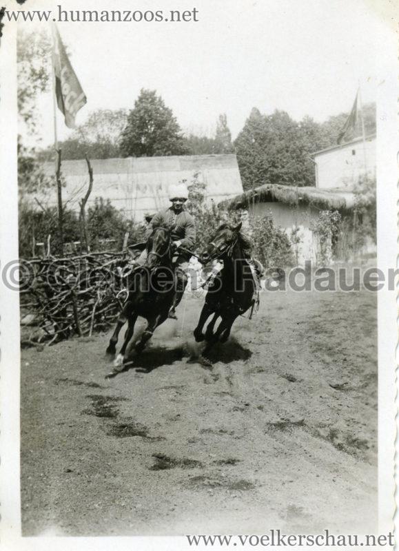 1932 Djigit Kuban Kosaken bei Hagenbeck - Foto 16