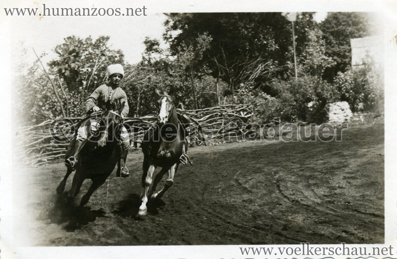 1932 Djigit Kuban Kosaken bei Hagenbeck - Foto 17