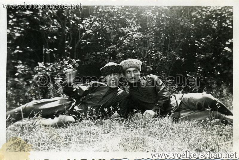 1932 Djigit Kuban Kosaken bei Hagenbeck - Foto 18