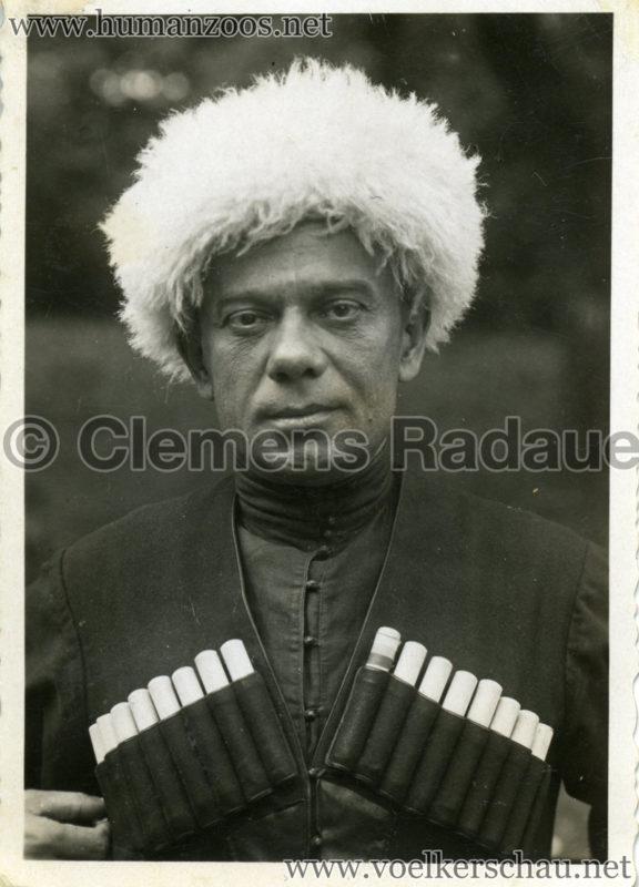 1932 Djigit Kuban Kosaken bei Hagenbeck - Foto 21