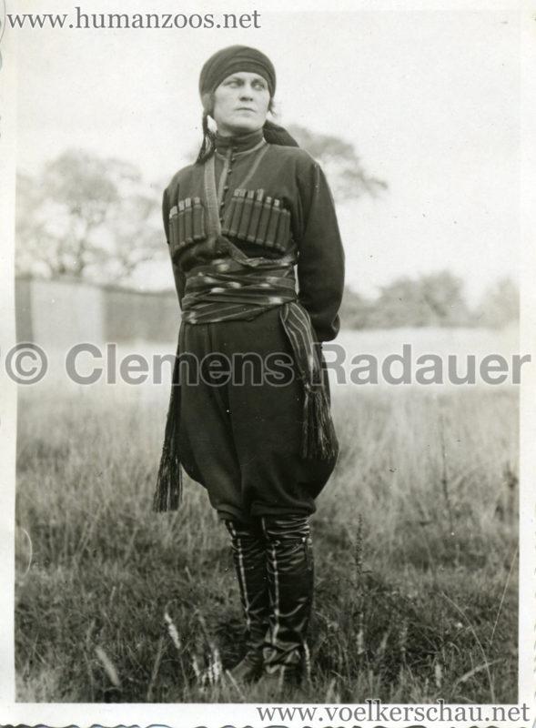 1932 Djigit Kuban Kosaken bei Hagenbeck - Foto 22