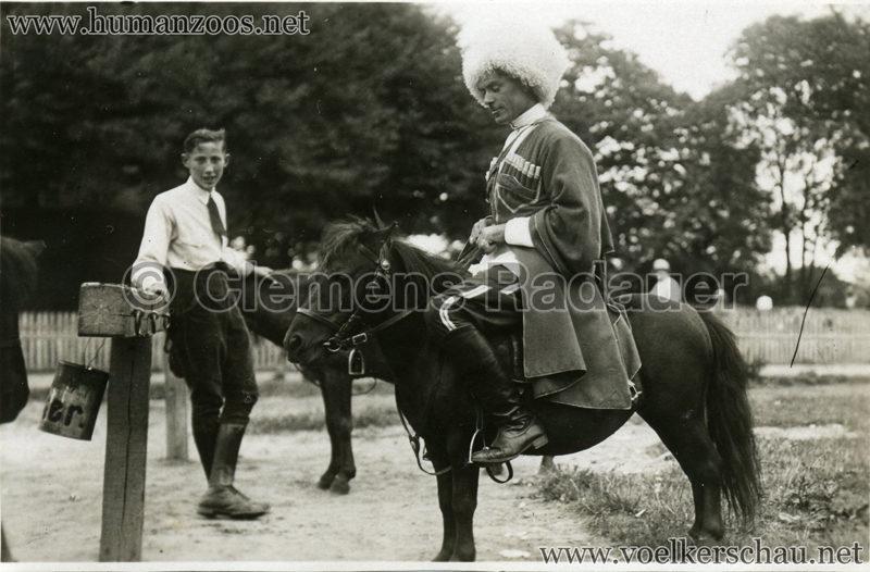 1932 Djigit Kuban Kosaken bei Hagenbeck - Foto 23