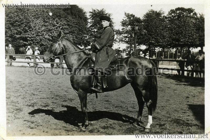 1932 Djigit Kuban Kosaken bei Hagenbeck - Foto 24