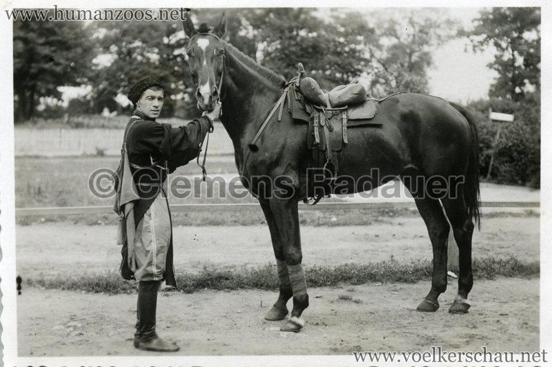 1932 Djigit Kuban Kosaken bei Hagenbeck - Foto 25