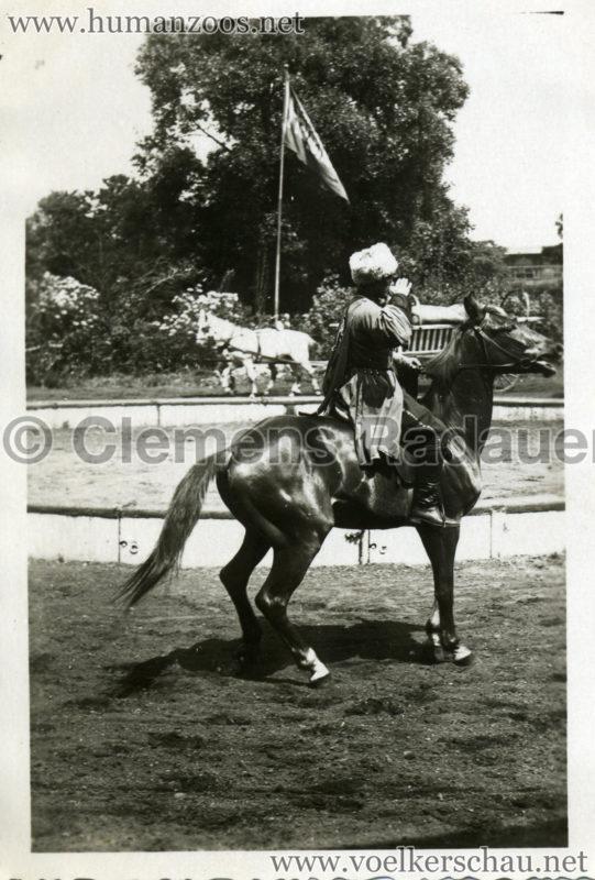 1932 Djigit Kuban Kosaken bei Hagenbeck - Foto 26