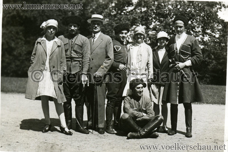 1932 Djigit Kuban Kosaken bei Hagenbeck - Foto 27