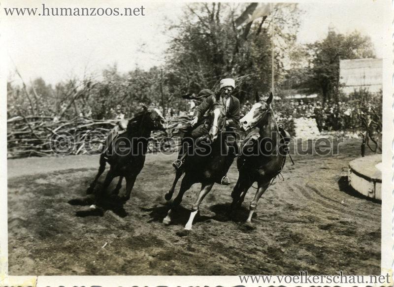 1932 Djigit Kuban Kosaken bei Hagenbeck - Foto 3