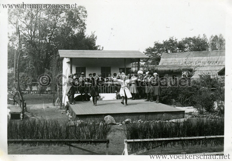 1932 Djigit Kuban Kosaken bei Hagenbeck - Foto 36