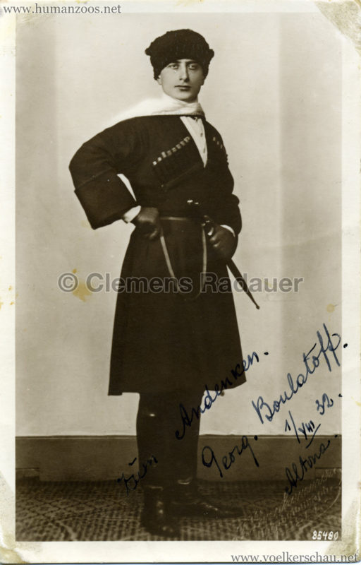 1932 Djigit Kuban Kosaken bei Hagenbeck - Foto 38