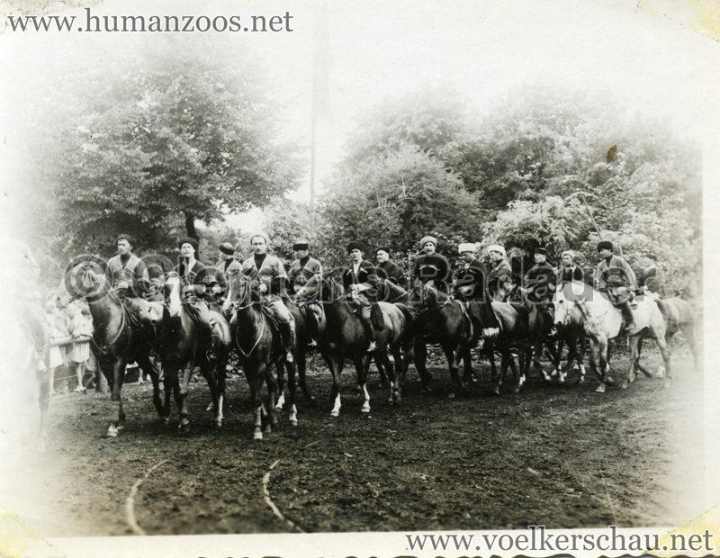 1932 Djigit Kuban Kosaken bei Hagenbeck - Foto 41
