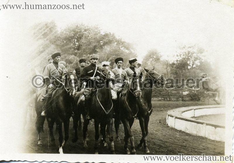 1932 Djigit Kuban Kosaken bei Hagenbeck - Foto 43