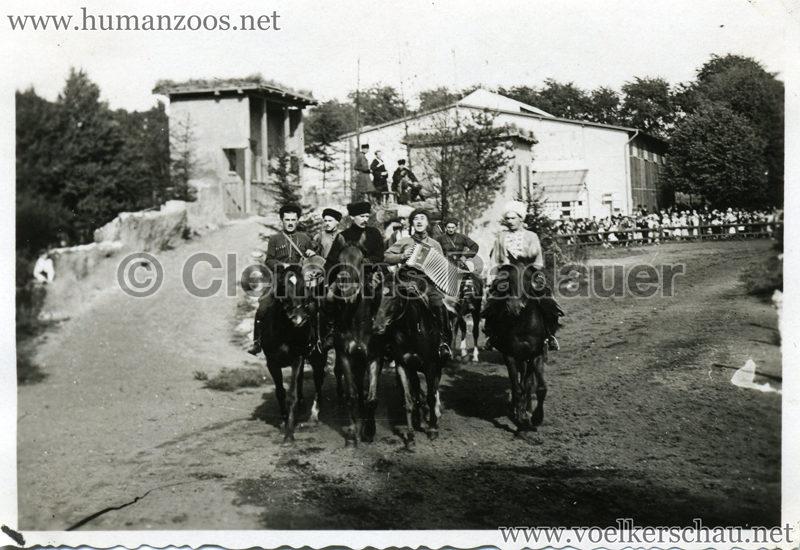 1932 Djigit Kuban Kosaken bei Hagenbeck - Foto 44