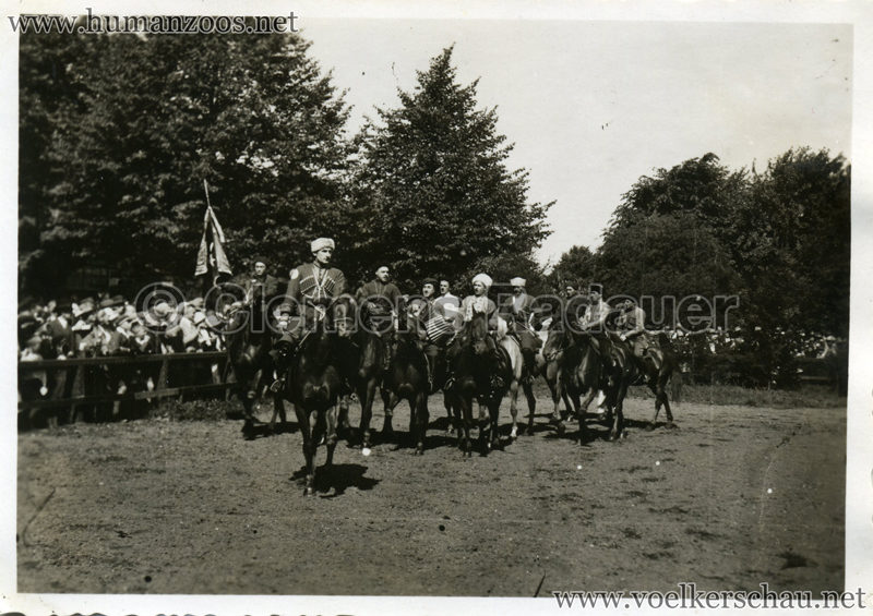 1932 Djigit Kuban Kosaken bei Hagenbeck - Foto 45