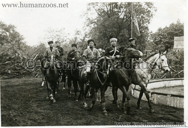 1932 Djigit Kuban Kosaken bei Hagenbeck - Foto 47