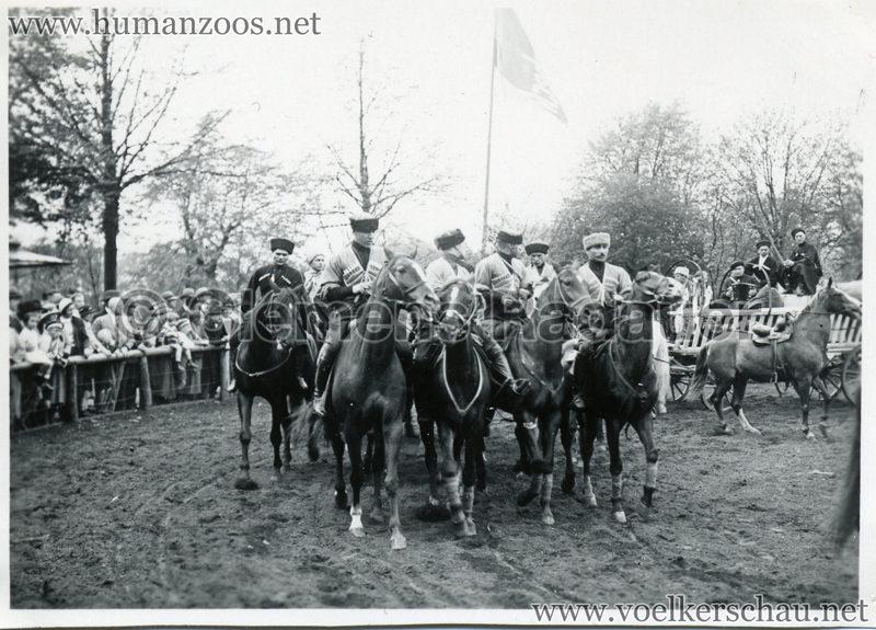 1932 Djigit Kuban Kosaken bei Hagenbeck - Foto 48