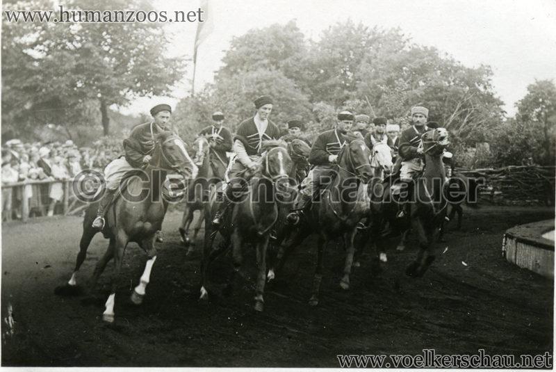 1932 Djigit Kuban Kosaken bei Hagenbeck - Foto 49
