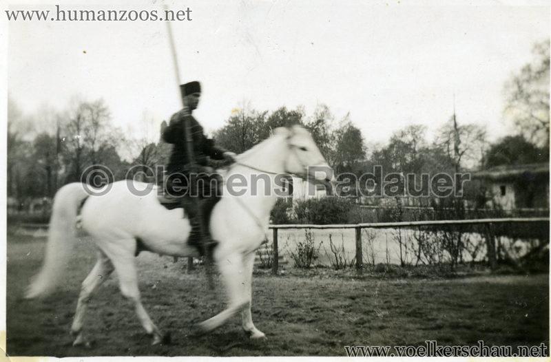 1932 Djigit Kuban Kosaken bei Hagenbeck - Foto 51