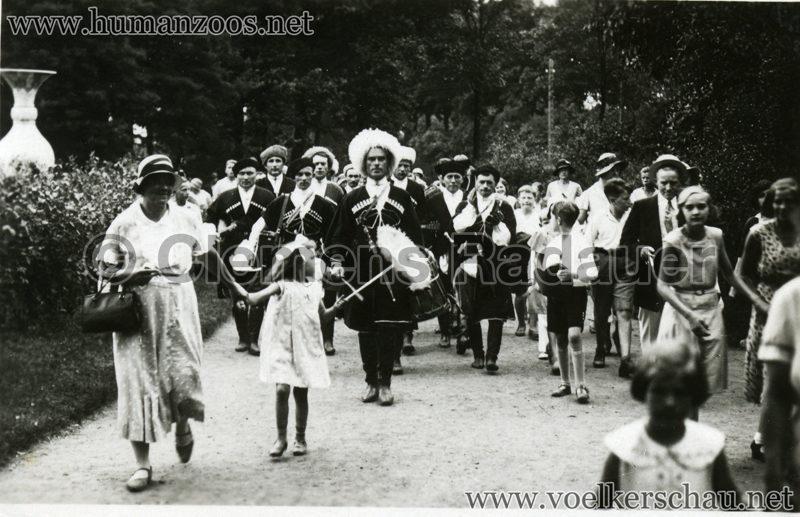 1932 Djigit Kuban Kosaken bei Hagenbeck - Foto 52