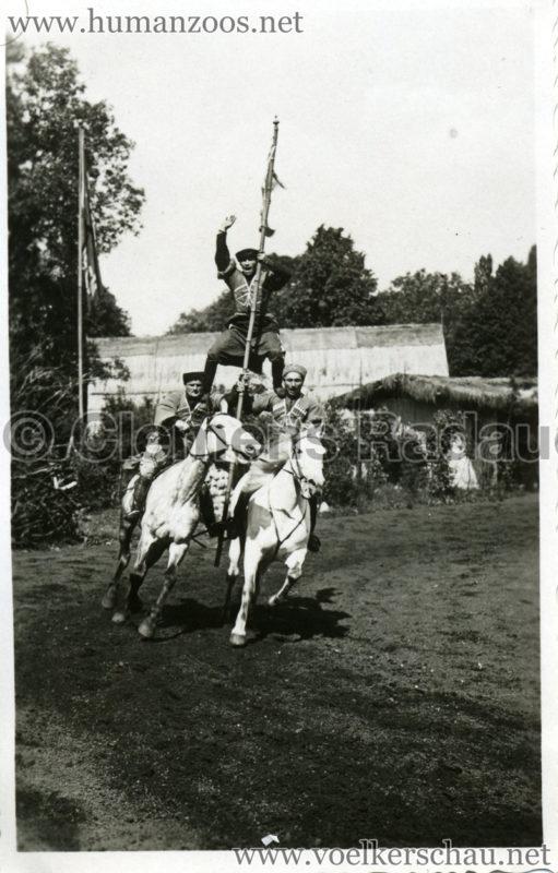 1932 Djigit Kuban Kosaken bei Hagenbeck - Foto 53