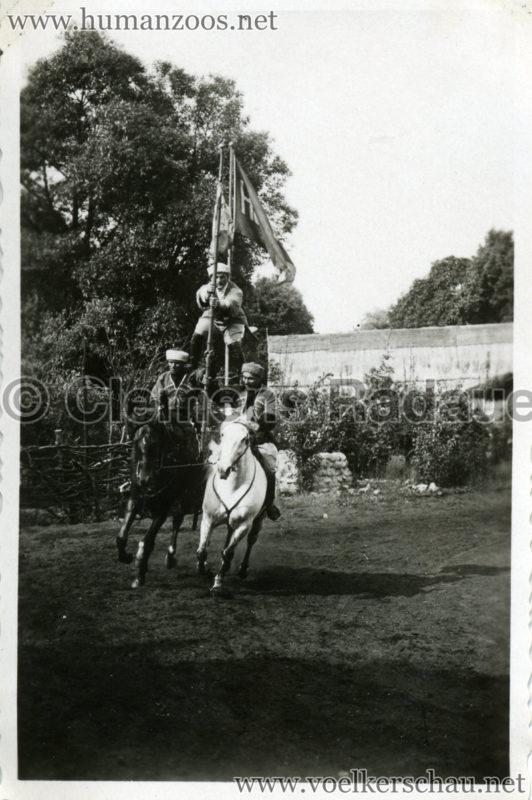 1932 Djigit Kuban Kosaken bei Hagenbeck - Foto 54