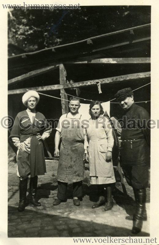 1932 Djigit Kuban Kosaken bei Hagenbeck - Foto 57