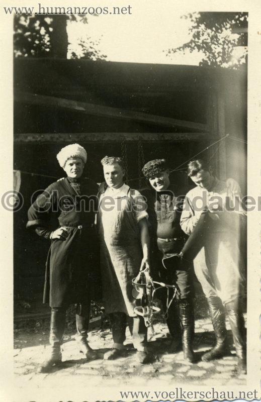 1932 Djigit Kuban Kosaken bei Hagenbeck - Foto 58
