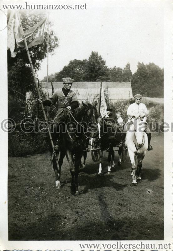 1932 Djigit Kuban Kosaken bei Hagenbeck - Foto 59