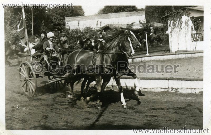 1932 Djigit Kuban Kosaken bei Hagenbeck - Foto 63