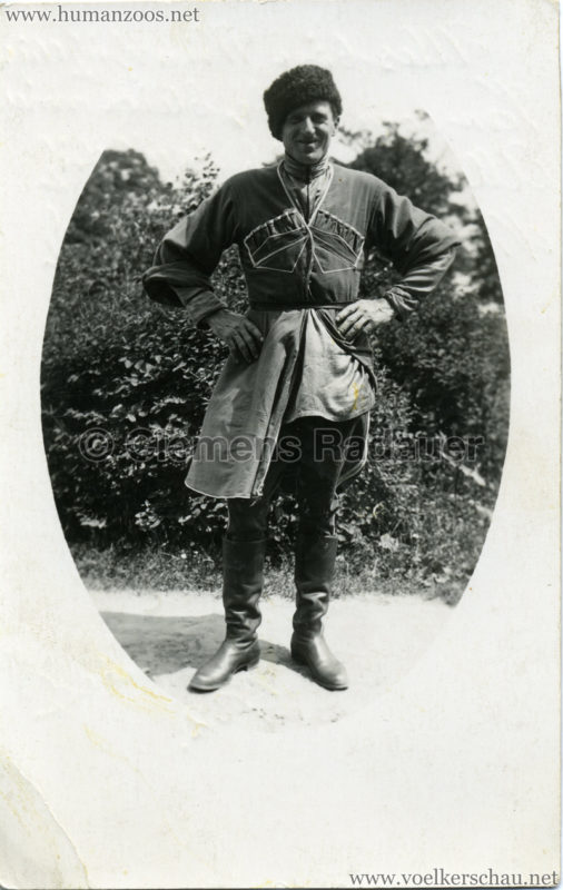 1932 Djigit Kuban Kosaken bei Hagenbeck - Foto 64 VS