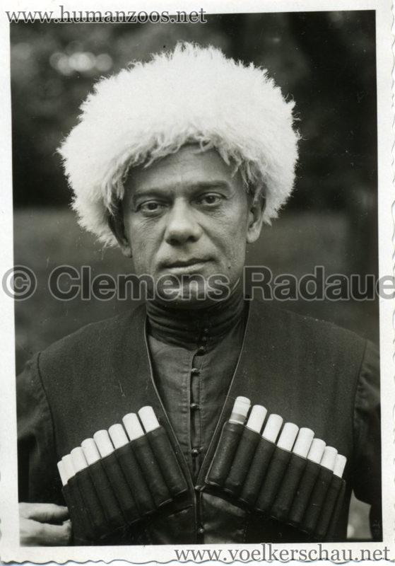 1932 Djigit Kuban Kosaken bei Hagenbeck - Foto 69