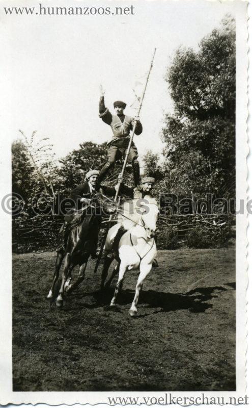 1932 Djigit Kuban Kosaken bei Hagenbeck - Foto 71