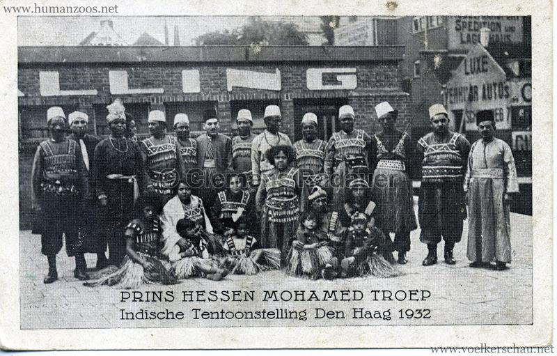 1932 Prins Hessen Mohamed Troep - Indische Tentoonstelling Den Haag