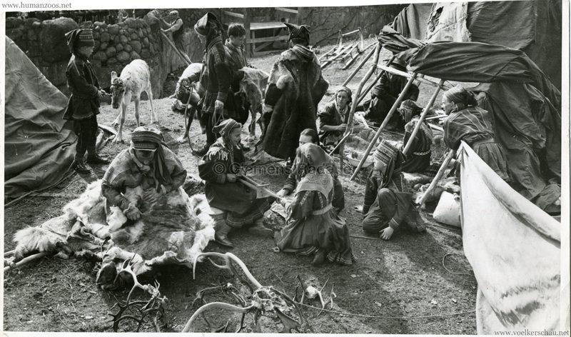 1952 Lappländer im Berliner Zoo VS