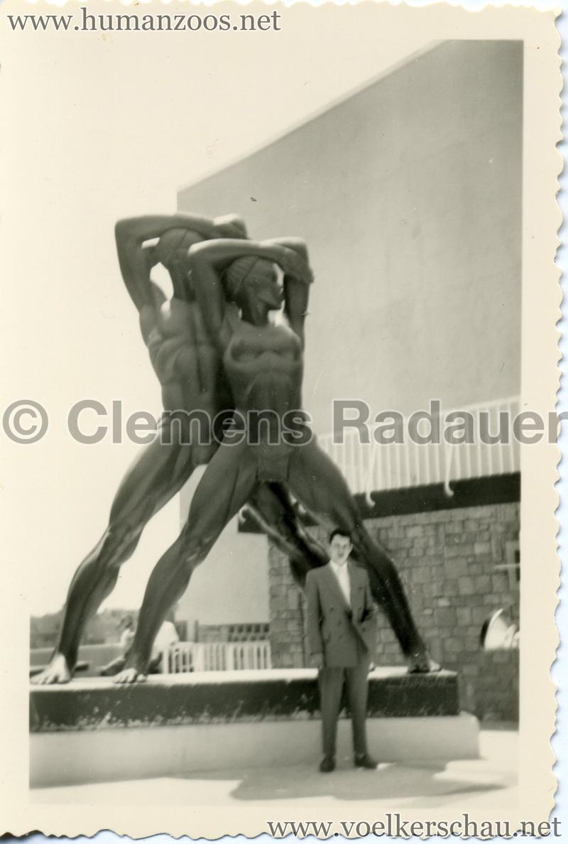 1958 Exposition Universelle Bruxelles - Afrikanische Statuen 1