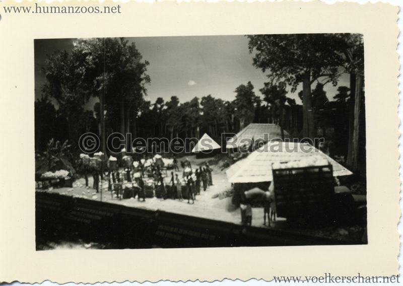 1958 Exposition Universelle Bruxelles - Afrikanisches Diorama