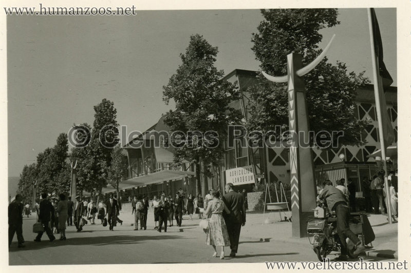 1958 Exposition Universelle Bruxelles - Eingang