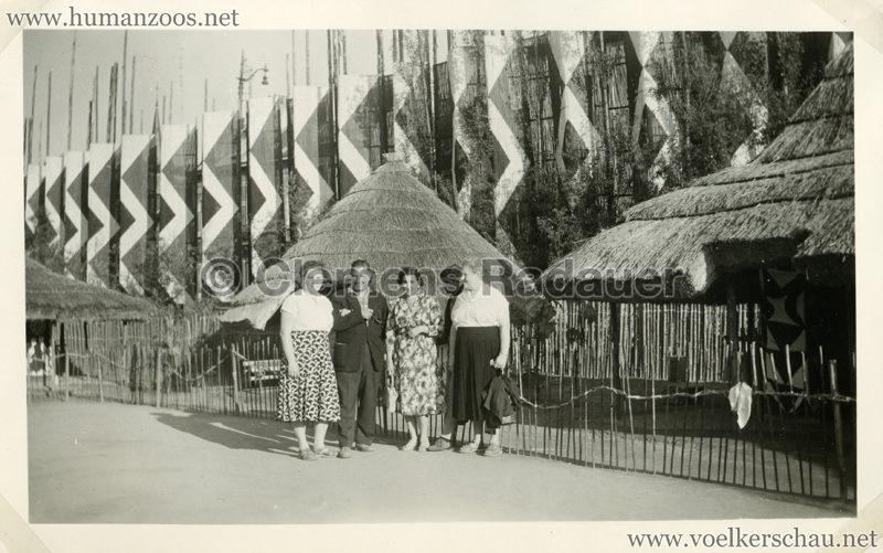 1958 Exposition Universelle Bruxelles S3 - Village Congolais 1
