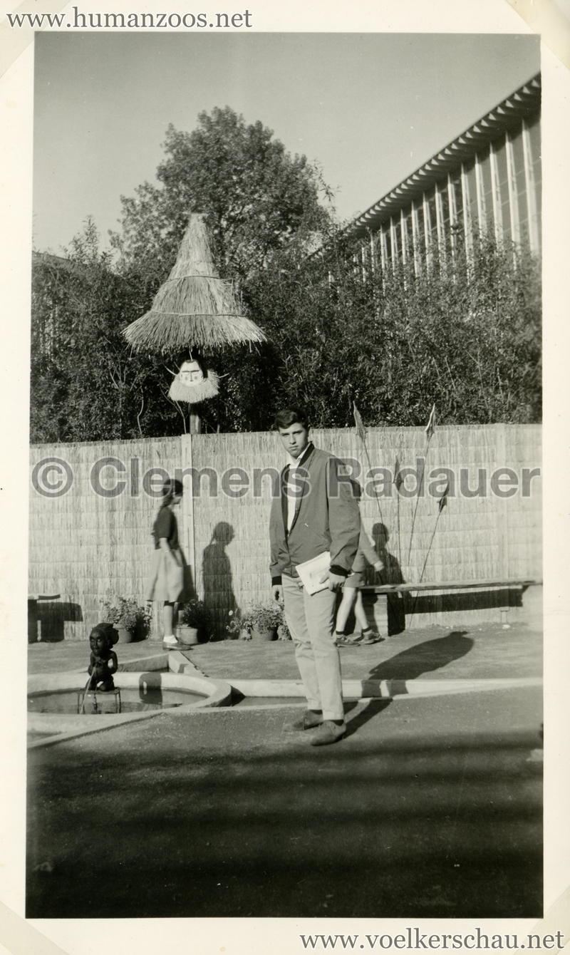 1958 Exposition Universelle Bruxelles S3 - Village Congolais 4