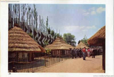 1958 Exposition Universelle Bruxelles - Village Congo