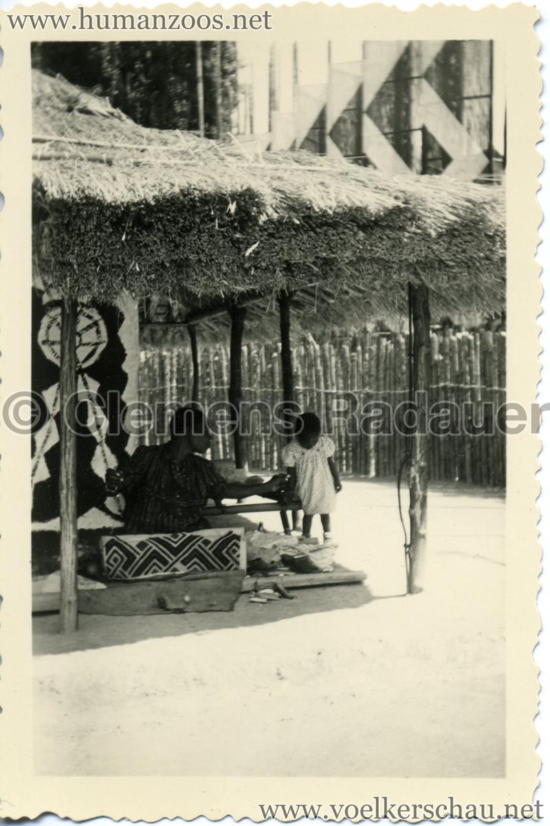 1958 Exposition Universelle Bruxelles - Village Congolais 1