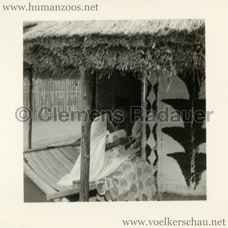 1958 Exposition Universelle Bruxelles - Village Congolais 3