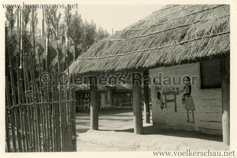 1958 Exposition Universelle Bruxelles - Village Congolais 2