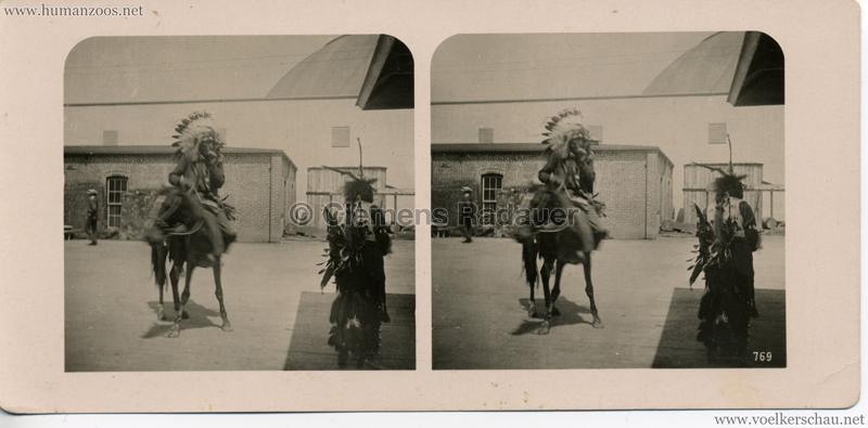 769 Welt-Ausstellung St. Louis 1904 - Indianer zu Pferd