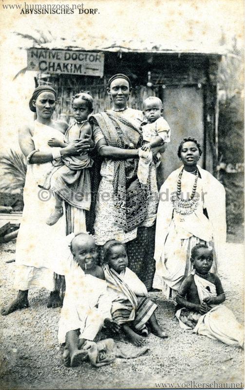 Abyssinisches Dorf 1