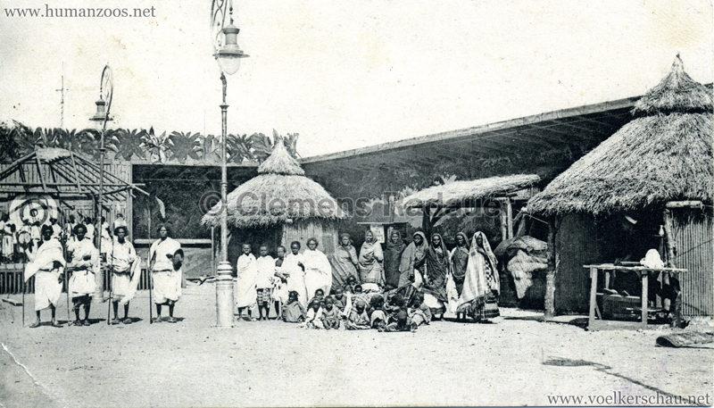 Abyssinisches Dorf Paris